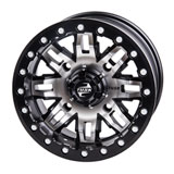 Tusk Teton Beadlock Wheel Machined/Black