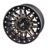 Tusk Teton Beadlock Wheel Smoke/Black