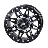 Tusk Wasatch Beadlock Wheel Machined/Black
