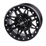Tusk Wasatch Beadlock Wheel Matte Black
