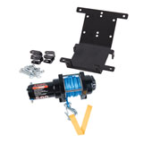 Tusk Winch with Synthetic Rope and Mount Plate