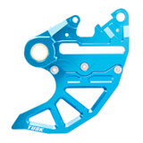 Tusk Rear Brake Caliper Support w/ Brake Disc Guard Blue