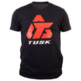 Tusk Logo T-Shirt Black