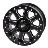 Tusk Uinta Beadlock Wheel Milled/Black