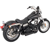 Vance & Hines Competition Series 2-Into-1 Motorcycle Exhaust