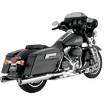 Vance & Hines Monster Round Slip-On Motorcycle Exhaust (CARB)