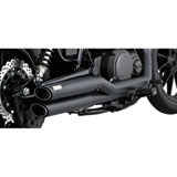 Vance & Hines Twin Slash Staggered Motorcycle Exhaust System