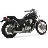 Vance & Hines Classic II Cruiser Slip-On Motorcycle Exhaust