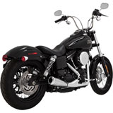 Vance & Hines 2-Into-1 Upsweep Exhaust (NO CA)