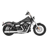 Vance & Hines Stainless Hi-Output 2-Into-1 Motorcycle Exhaust