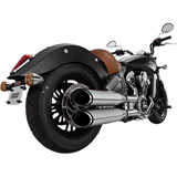 Vance & Hines Twin Slash Slip-On Exhaust