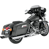 Vance & Hines Twin Slash Monster Slip-On Motorcycle Exhaust (NO CA)