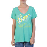 Volcom Script-A-Dot Ladies V-Neck T-Shirt