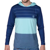 Volcom Sub Stripe Long Sleeve Hooded Shirt