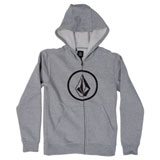 Volcom Stone Youth Zip-Up Hooded Sweatshirt