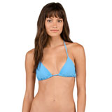 Volcom Women's Simply Solid Triangle Bikini Top