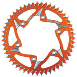 Vortex 520 Aluminum Rear Sprocket Orange