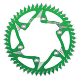 Vortex 520 Aluminum Rear Sprocket Green
