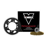 Vortex V3 HFRA Hyper Fast 520 Conversion Street Kit Gold Anodized Chain