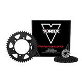Vortex V3 HFRA Hyper Fast 520 Conversion Street Kit Black Anodized Chain