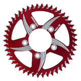 Vortex CAT5 530 Aluminum Rear Sprocket Red