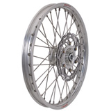 Warp 9 Complete Wheel Kit - Front Silver Rim/Silver Hub/Silver Spokes and Nipples
