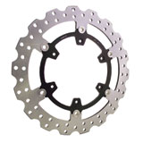 Warp 9 Oversized Floating Brake Rotor Kit, Front