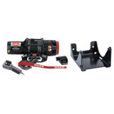WARN® ProVantage Winch with Synthetic Rope and Mount Plate