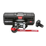WARN® Axon Winch with Wire Rope and Mount Plate