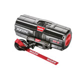 WARN® Axon Winch with Synthetic Rope and Mount Plate