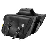 Willie & Max Deluxe Fleetside Slant Motorcycle Saddlebag