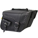 Willie & Max Ranger Studded Super Slant Saddlebags