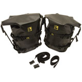 Wolfman Large Rolie Bag Tank Pannier Kit Black