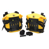 Wolfman Large Rolie Bag Tank Pannier Kit Yellow