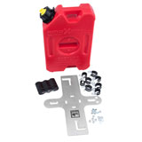 Wolfman Pawnee RotopaX Side Rack Plate with 1 Gallon Gas Can