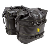 Wolfman Waterproof Rocky Mountain Saddle Bags Black