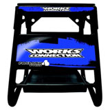 Works Connection Factory 4 Stand Black w/Blue Decals
