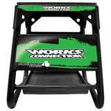 Works Connection Factory 4 Stand Black w/Green Decals