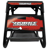 Works Connection Factory 4 Stand Black w/Red Decals