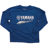 Yamaha Racing Long Sleeve Youth T-Shirt