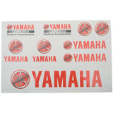 Yamaha Sticker Sheet