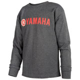 Yamaha Red Logo Youth Long Sleeve T-Shirt