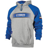 Yamaha Tracks Two-Tone Hooded Sweatshirt Grey/Blue