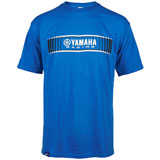 Yamaha Tracks Speed Block T-Shirt Blue