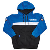 Yamaha Racing Zip-Up Hooded Sweatshirt Blue/Black/White