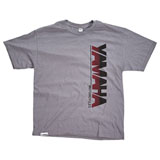 Yamaha High Rev Vertical T-Shirt Heather Grey