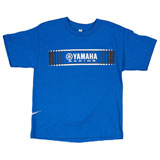 Yamaha Youth Racing Tracks T-Shirt  Blue