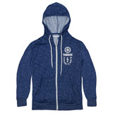 Yamaha Track & Trail Zip-Up Hooded Sweatshirt Blue