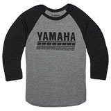 Yamaha Speed Demon 3/4 Sleeve T-Shirt Charcoal