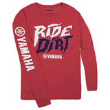 Yamaha Track & Trail Ride Dirt Long Sleeve T-Shirt